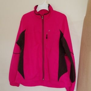 Women's Pink/Brown Small Long Sleeve Jacket